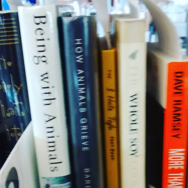 A likeminded library patrons reserved books shelved right next tohellip