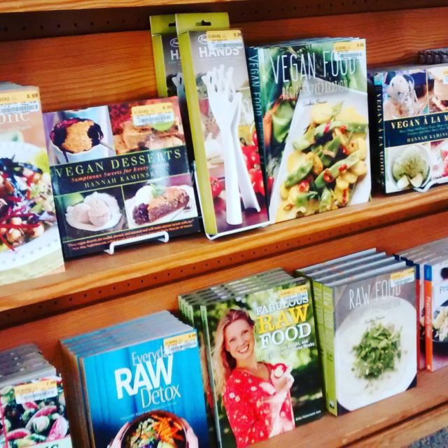 Everythings coming up vegan! A bevy of plantbased cookbooks greetedhellip
