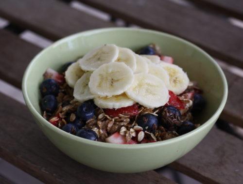 Cold oats - Oatmeal