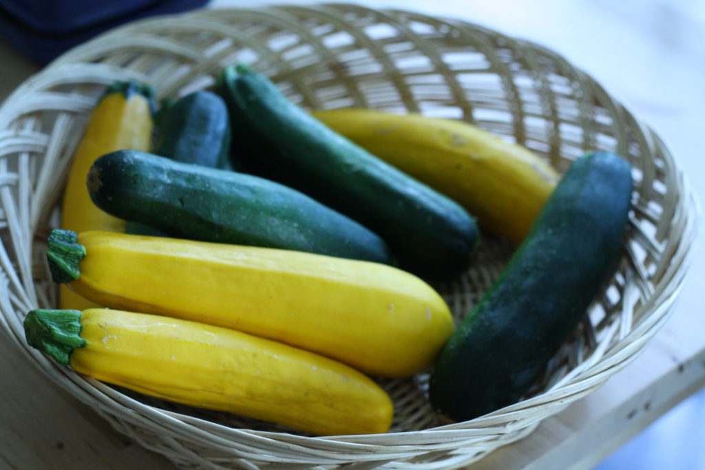 Zucchini and Yellow Summer Squash